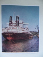 Polish General Cargo Ship Manifest Lipcowy   In Szczecin Port   /   Photo  Reproduction - Autres