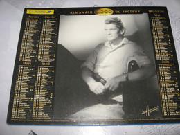CALENDRIER - ALMANACH LA POSTE ANNÉE 2000 - JEAN MARAIS JEANNE MOREAU LAVIGNE - Formato Grande : 1991-00