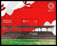 Peru 2021 2oo Years Of Independence Old National Stadium - Monumenti