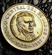 Ecuador 1000 Sucre, 1997 70 Years Of The Central Bank - Ecuador