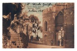 SANTIAGO (CHILE). CERRO SANTA LUCIA. CIRCULADA EN 1911. - Chile