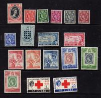 Sainte-Lucie (1953-63)  - Elizabeth II- Neufs**/*  - - St.Lucia (...-1978)