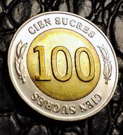 Ecuador 100 Sucre, 1997 70 Years Of The Central Bank - Ecuador