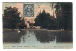 SANTIAGO (CHILE). QUINTA NORMAL. CIRCULADA EN 1913. - Chile