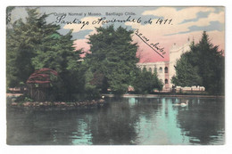 SANTIAGO (CHILE). QUINTA NORMAL Y MUSEO. CIRCULADA EN 1911. - Chile