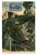 VALPARAISO (CHILE). ASCENSOR MECANICO EN EL CERRO CONCEPCION. CIRCULADA EN 1911. - Chile