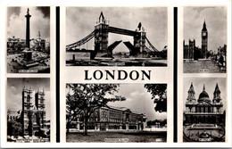 (5 A 17) Older Postcard - UK - London (6 Views) Posted 1955 - Altri