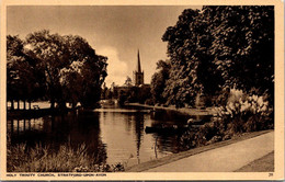 (5 A 17) Older Postcard - UK - Stratford Upon Avon - Stratford Upon Avon