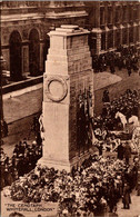 (5 A 17) Older Postcard - UK - London (Cenotaph) Posted To Australia - Oorlogsmonumenten