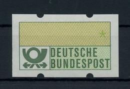 1981, Bundesrepublik Deutschland, ATM I F, ** - Non Classificati