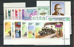 1973, Liberia, 876-81 U.a., ** - Liberia
