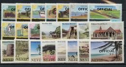 1980, Nevis, D 1-22, ** - Altri - America