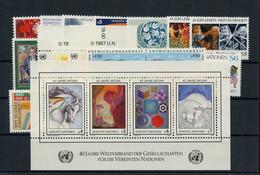 1986, UNO Wien, 1986-87, ** - Non Classificati