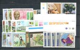 1985, Jamaica, 607-10 U.a., ** - Giamaica (1962-...)