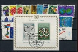 1978, UNO Genf, 1978-80, Gest. - Non Classificati