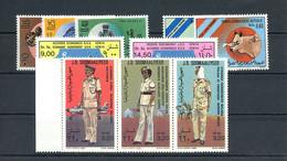 1983, Somalia, 337-44 U.a., ** - Somalië (1960-...)