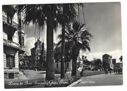 11.577 - RIVIERA DEI FIORI SANREMO SAN REMO - CHIESA RUSSA - CORSO IMPERATRICE ANIMATA 1954 - San Remo