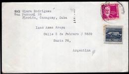 Cuba - 1955 - Lettre - Envoyé En Argentine - Storia Postale
