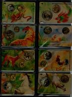 SINGAPORE 2002 PHONECARD ZODIAC SET OF 12 CARDS PAZEL MINT VF!! - Zodiaco
