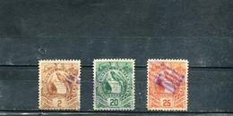 Guatemala 1886 Yt 33 36 37 Emblème National - Guatemala