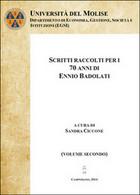 Scritti Raccolti Per I 70 Anni, Di Ennio Badolati Vol.2, Sandra Ciccone,  2014 - Altri