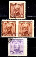 Cuba-0096- Emissione 1954.... - Qualità A Vostro Giudizio. - Non Classificati