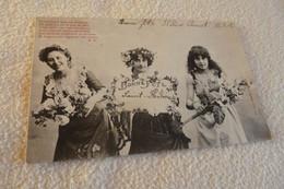 BELLE ILLUSTRATION ...JEUNES FEMMES ...BONNE FETE - Bergeret