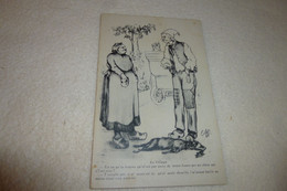 "BELLE ILLUSTRATION FOLKLORIQUE ..""AU VILLAGE""...SIGNE C.LESTIN 1909 (re) - Other Illustrators"