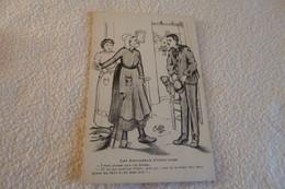 """BELLE ILLUSTRATION FOLKLORIQUE ..""""LES AMOUREUX D'CHEZ NOUS""""...SIGNE C.LESTIN 1909 (re) - Other Illustrators"""