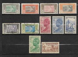 11 Timbres De Côte D' Ivoire - Emis De 1913 à 1942 - Unclassified