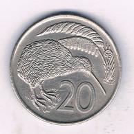 20 CENTS 1976 NIEUW ZEELAND /7909/ - Nuova Zelanda