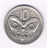 10 CENTS 1980 NIEUW ZEELAND /7911/ - Nuova Zelanda
