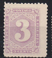 STAMPS-LIBERIA-1888-UNUSED-NO GUM-SEE-SCAN - Liberia