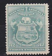STAMPS-LIBERIA-1892-UNUSED-NO GUM-SEE-SCAN - Liberia