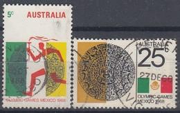 AUSTRALIA 406-407,used - Usati