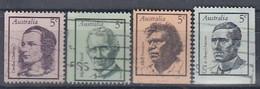 AUSTRALIA 410-413,used - Usati