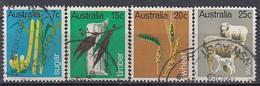 AUSTRALIA 418-421,used - Usati