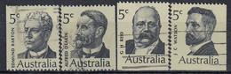 AUSTRALIA 424-427,used - Usati