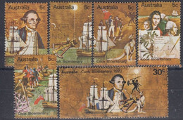 AUSTRALIA 437-442,used,ships - Usati