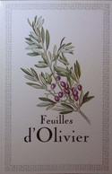 Petit Calendrier Poche 1991 Olivier Olive - Pharmacie Rennes Ille Et Vilaine - Dobola Angouleme - Formato Piccolo : 1991-00