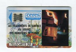 Telecarte °_ France 50u-En 4-Sc4aB-02.91-Ceres Technologie-2870 Ex.- R/V - 50 Unità