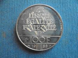 100 FRANCS FRATERNITE 1988 - N. 100 Francs