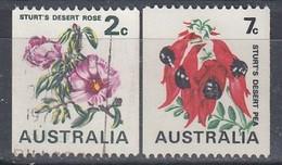 AUSTRALIA 476-477,used,flowers - Usati