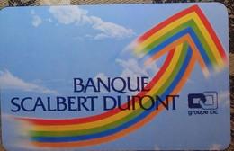 Petit Calendrier De Poche 1984 Banque Scalbert Dupont  Groupe CIC - Formato Piccolo : 1981-90