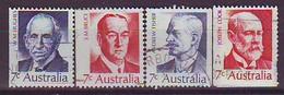AUSTRALIA 486-489,used - Usati