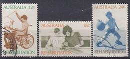 AUSTRALIA 495-497,used - Usati
