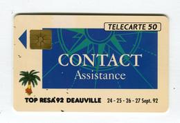 Telecarte °_ France 50u-En 445-gem-09.92-Contact Deauville-2260 Ex.- R/V - 50 Unità