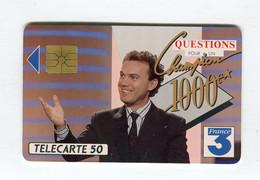 Telecarte °_ France 50u-En 486-gem-11.92-Questions Pour Champion-4440 Ex.- R/V - 50 Unità