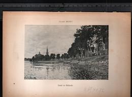 Claude Monet, Canal En Hollande ( Reproduction Papier) - Altri