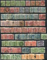 Dänemark Dienstmaken Denmark Official Stamps Gestempelt/used - The Good, The Bad And The Ugly - Dienstpost